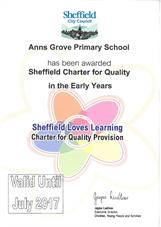 Charter for Quality Award
